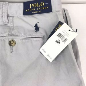 Polo by Ralph Lauren Shorts - NWT Polo Ralph Lauren Mens Shorts Gray Size 50B